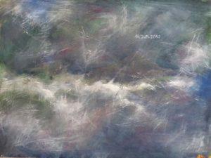 Clouds, 2010-2011, Mischt./HDF, 30x40